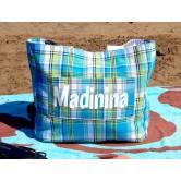 "Sac Cabas Réversible Madras ""Madinina"""
