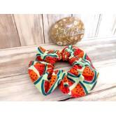 Chouchou fille motifs pastèques