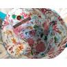 Trousse de toilette femme tortue, foulchie turquoise - Intérieur