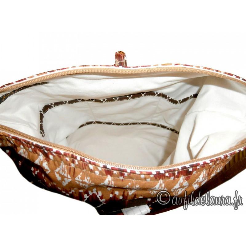 sac main ethnique chic tendance beige aufildelaura. Black Bedroom Furniture Sets. Home Design Ideas